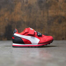 プーマ Puma x Sesame Street Little Kids ST Runner - Elmo (red / white) ユニセックス