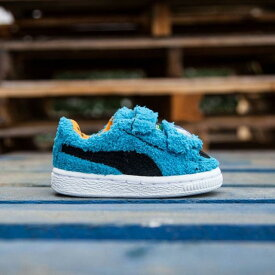 プーマ Puma x Sesame Street Toddlers Basket SES - Cookie Monster (blue) ユニセックス