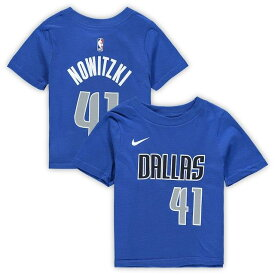 ナイキ Nike Dirk Nowitzki Dallas Mavericks Toddler Blue Name & Number T-Shirt キッズ