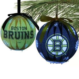 Boston Bruins 6-Piece LED Boxed Ornament Set ユニセックス
