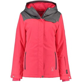 Spyder U.S. Ski Team Women's Pink/Gray Empress Jacket ユニセックス