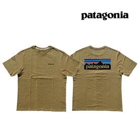 PATAGONIA パタゴニア P-6 ロゴ オーガニック メンズ Tシャツ P-6 LOGO ORGANIC T-SHIRT CSC CLASSIC TAN 38535