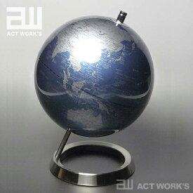 《全7色》act work's インテリア地球儀 globe(MM)20cm【アクトワークス デザイン雑貨 レトロ モダン インテリア オフィス 北欧 リビング】