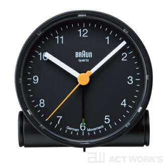 BRAUN BNC001 alarm clock clock Brown