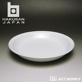 白山陶器よしず彫取皿16.5×16.5cm