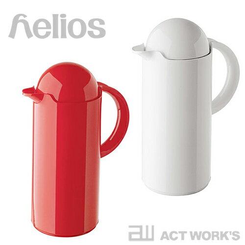 《全2色》helios 卓上魔法瓶 Skyline 1.0L スカイライン Vacuum Jug 【ヘリオス デザイン雑貨 コーヒー 紅茶 日本茶 緑茶 ドイツ製 保温 魔法ビン ダイニング】