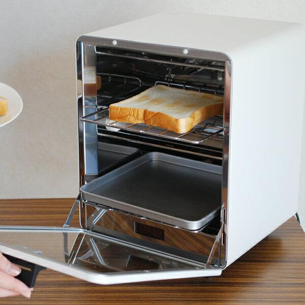 【RCP】《全2色》±0 プラスマイナスゼロ オーブントースター 縦型 Oven Toaster 【キッチン雑貨 調理器具 北欧 デザイン家電 パン焼き器 朝食 食パン トースター プラマイゼロ 2段】