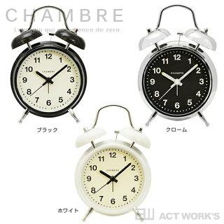《全3色》CHAMBRENWTWINBELLALARMCLOCK目覚まし時計置き時計ツインベルアラームクロック