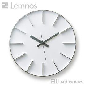 《全3色》LEMNOS edge clock エッジクロック -Lサイズ- 【タカタレムノス デザイン雑貨 壁掛け時計 ウォールクロック スタイリッシュ インテアリア 北欧 リビング ダイニング キッチン オフィス 店舗】