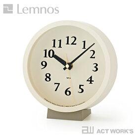 《全4色》LEMNOS m clock 置き時計 掛け時計 エムクロック 電波時計 【タカタレムノス デザイン雑貨 壁掛け時計 インテアリア 北欧】
