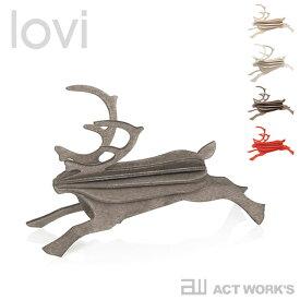 《全4色》lovi Reindeer トナカイ 【ロヴィ オブジェ フィンランド 白樺 バーチ材 リビング デザイン雑貨 クリスマスツリー レインディア】