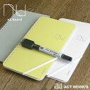 《全3色》CANSAY nu board LIGHT ヌーボード ライト 【欧文印刷 筆記用具 ステーショナリー 手帳 メモ帳 ホワイトボー…