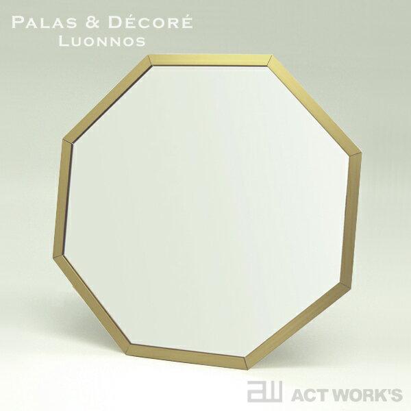 《全3色》PalaDec Octam 八角形スタンド/ウォールミラー Mサイズ オクタム 【デザイン雑貨 八角ミラー パラデック 風水 パワー 玄関 開運 壁掛け 鏡】