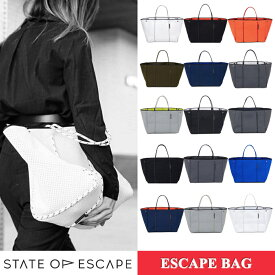 ステイト オブ エスケープ ESCAPE BAG State of Escape ビーチ ESCAPE BAG エスケープバッグ トートバッグ ロンハーマン 取り扱い ステイトオブエスケープ マザーズバッグ 15色 /レディーストートバッグ