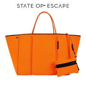 26b6017543 ステイト オブ エスケープ ESCAPE BAG 新色 Orange Soda オレンジソーダ State of Escape トートバッグ