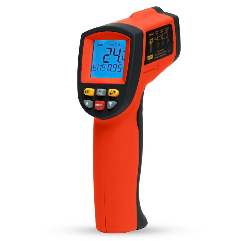 非接触型赤外線放射温度計TemPro 900測定範囲-50°〜900°/赤外線測温器/測定器/レーザーポイント付き測温計/放射温度計/非接触型測温計/デジタル液晶表示/小型/コンパクト/測定器/工業用温度計/送料無料