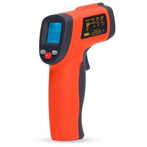 非接触型 赤外線 放射 工業用 温度計 TemPro 350 測定範囲-32°〜350° 赤外線測温器 測定器 レーザーポイント付き測温計 放射温度計 非接触型測温計 デジタル液晶表示 小型 コンパクト 測定器 業