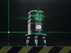 電子自動整準式 グリーン レーザー墨出し器 NEW サーボライナー フルライン バッテリー仕様 受光器(別売りLR60G)対応 4V4HD 地墨 大矩 鉛直 墨出器 測量 測定器 建築 レーザー墨出し機 墨出しレーザー 墨出機 オートレーザー オートライン 送料無料