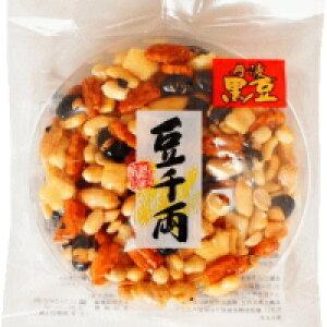 大人気!【丹波黒豆 豆千両1枚入】ピーナッツ、あられ、黒豆などを固めました。