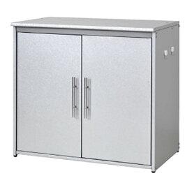 【送料無料】オールガルバ製ゴミ収納庫 幅74.5cm ■【日本製/ガルバリウム/ゴミ箱/物置】
