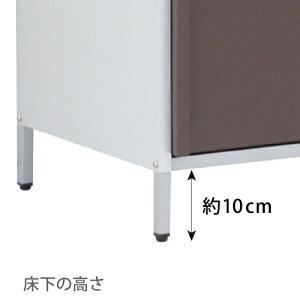 ガルバ製物置スリム高さ95cm7