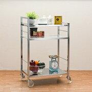 [イメージ]スリムワゴンサイドワゴンキッチン収納シンプルデザインで使い易い業務用衛生用品