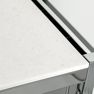 【送料無料】包丁スタンド付キッチン作業台幅48cm