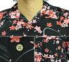 夏威夷衬衫和睦花纹!夏威夷衬衫和睦花纹人夏威夷衬衫樱花樱花黑10P03Dec16