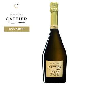 キャティア ブリュット ミレジム 2012 プルミエクリュ プレゼント お祝い ギフト シャンパン