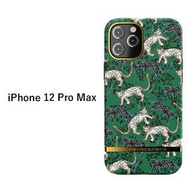 送料無料 iPhone12ProMax Richmond & Finch アニマル 柄 ケース ハード ハードケース ソフト ソフトケース カバー 背面 ハイブリッド メタル 動物 ヒョウ 豹 スマホ アイフォン トゥエルブ プロ マックス iPhone 12 Pro Max 6.7inch スマホカバー スマホケース s-ri-7f571