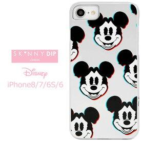 iPhone8 iPhone7 iPhone6S iPhone6 SKINNYDIP ディズニー ミッキーマウス ケース カバー スキニーディップ ソフト ソフトケース ハード ハードケース キャラクター グッズ ミッキー mikky アイフォン iphons8ケース iphone 8 7 6s スマホカバー スマホケース s-se_7c551