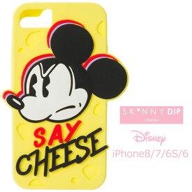 iPhone8 iPhone7 iPhone6S iPhone6 SKINNYDIP ディズニー ミッキーマウス シリコン ケース カバー スキニーディップ ソフト ソフトケース シリコンンケース キャラクター グッズ ミッキー アイフォン iphons8ケース iphone 8 7 6s スマホカバー スマホケース s-se_7c553