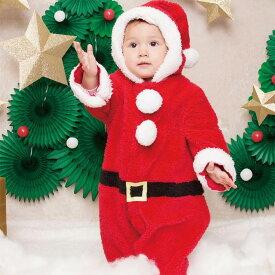 セール ベビー マシュマロ サンタ もこもこ あったか ロンパース ロンパス 赤ちゃん 着ぐるみ 子供服 きぐるみ フード付き 出産祝い きぐるみロンパース 着ぐるみロンパース キッズ 衣装 コスチューム コスプレ クリスマス サンタコス レッド 赤 仮装 即納 s-cs_6f705