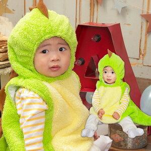 ベビー マシュマロ プティサウルス ダイナソー 恐竜 サウルス ドラゴン 怪獣 もこもこ ロンパース ロンパス 赤ちゃん 着ぐるみ 子供服 きぐるみ フード付き 出産祝い きぐるみロンパース 着