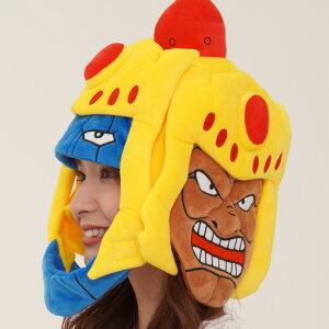 キン肉マン アシュラマン 被り物 かぶりもの 被りもの キャラクター グッズ かわいい 可愛い キンニクマン アニメ メンズ レディース 男女兼用 ヘッド 帽子 頭 コスプレ コス コスチューム