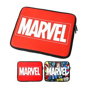 マーベルヒーロー インナーケース パソコン タブレット ノートパソコン インナーバッグ 収納 鞄 パソコンバッグ キャラクター マーベル スパイダーマン ロゴ キャプテンアメリカ パソコン
