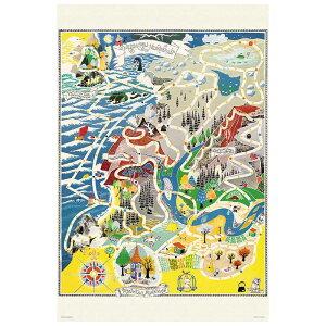 ムーミン マップ オブ ムーミンバレー ジグソーパズル 1000ピース ジグソー パズル Puzzle かわいい キャラクター おもちゃ グッズ ギフト 誕生日 プレゼント 誕生日プレゼント 贈り物 大きいサ