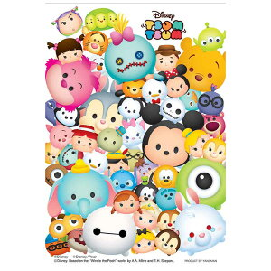 ツムツム ‐たくさん‐ ディズニー Disney ジグソーパズル 70ピース プリズムプチ ジグソー パズル Puzzle クリア 透明ピース プチサイズ ギフト プレゼント 誕生日プレゼント 贈り物 誕生日 ク