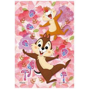 グラス・ナッツ ディズニー Disney チップ デール ジグソーパズル 70ピース プリズムプチ ジグソー パズル Puzzle クリア 透明ピース プチサイズ ギフト プレゼント 誕生日プレゼント 贈り物 誕