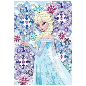クリスタルタイル エルサ ディズニー Disney ジグソーパズル 70ピース プリズムプチ ジグソー パズル Puzzle クリア 透明 ピース ギフト プレゼント 誕生日プレゼント 贈り物 誕生日 クリスマス