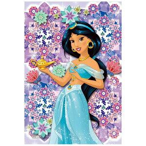 クリスタルタイル ジャスミン ディズニー Disney ジグソーパズル 70ピース プリズムプチ ジグソー パズル Puzzle クリア 透明 ピース ギフト プレゼント 誕生日プレゼント 贈り物 誕生日 クリス