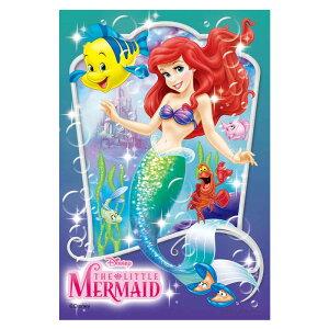 マーメイド・プリンセス ディズニー Disney ジグソーパズル 99ピース プチライト ジグソー パズル はがき A6 ポストカードサイズ ミニ ギフト プレゼント 誕生日プレゼント 誕生日 クリスマス