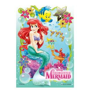海のプリンセス ディズニー Disney ジグソーパズル 99ピース プチライト ジグソー パズル はがき A6 ポストカードサイズ ミニ ギフト プレゼント 誕生日プレゼント 誕生日 クリスマス ステイホ