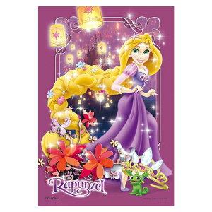 魔法の髪のプリンセス ディズニー Disney ジグソーパズル 99ピース プチライト ジグソー パズル はがき A6 ポストカードサイズ ミニ ギフト プレゼント 誕生日プレゼント 贈り物 誕生日 クリス