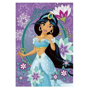 愛しのジャスミン アラジン ディズニー Disney ジグソーパズル 99ピース プチライト ジグソー パズル はがき A6 ポストカードサイズ ギフト プレゼント 誕生日プレゼント 贈り物 誕生日 クリス