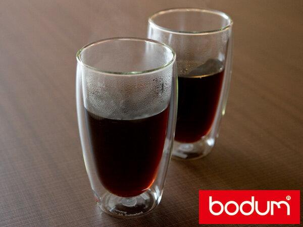 ボダム ( bodum ) パヴィーナダブルウォールグラス2個セット(4560-10)<460ml>【 アドキッチン 】