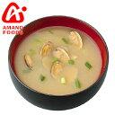 AMANO FOODS/アマノフーズ 瀬戸内みそ あさり (10食入り) 【インスタント/フリーズドライ/味噌汁】