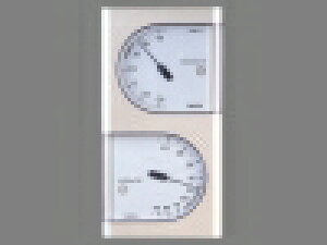 TANITA/タニタ 温湿度計(TT-518-PR)<パールホワイト>