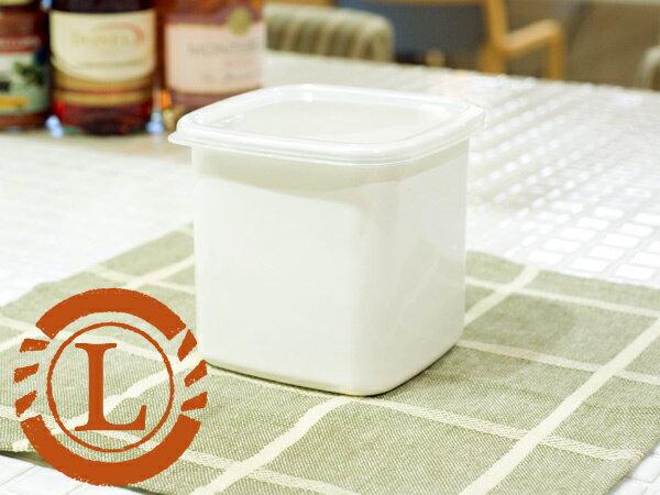野田琺瑯 野田ホーロー ホワイトシリーズ スクウェア L ( シール蓋付 ) ( WS-L ) ホーロー容器 のだホーロー NODAHORO 保存容器 琺瑯 琺瑯製品 琺瑯容器日本製