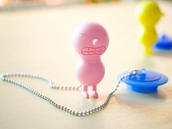 ALESSI/アレッシィ MR.SUICIDE バスタブプラグ(AMGI02P)<ピンク>【 アドキッチン 】
